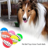 Spherical Pet Toy Super Thick Silicone Vocal Tooth Ball Dog Training Ball