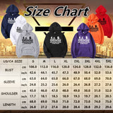 Trendy Stranger Things Printed Hooded Hoodies Fashionable Men & Women Oversized Pullover Sweatshirts for Autumn Winter Hip Fleece Hoodies Plus Size
