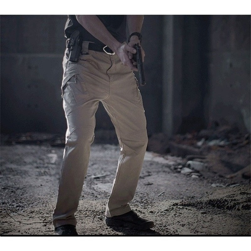 2020 New Tactical Army Users Outside Sports Hiking Pants Slim Special Forces Tactical Pants Multi-pocket Casual Pants
