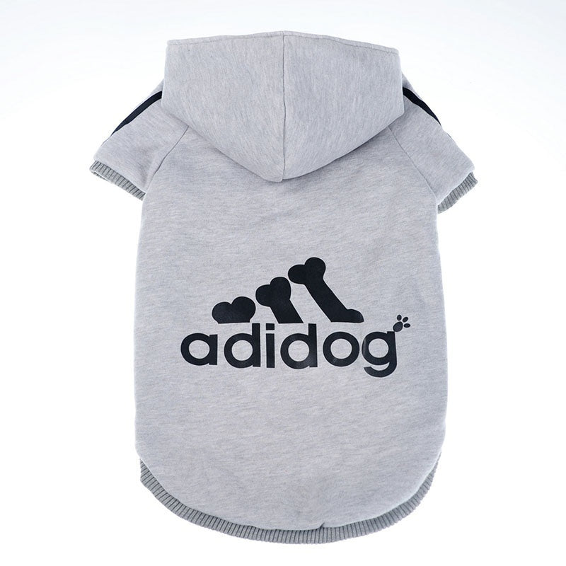 Winter Warm Pet Dog Clothes Soft Cotton Four-legs Hoodies Outfit for Small Dogs Chihuahua Pug Sweater Clothing Puppy Coat Jacket