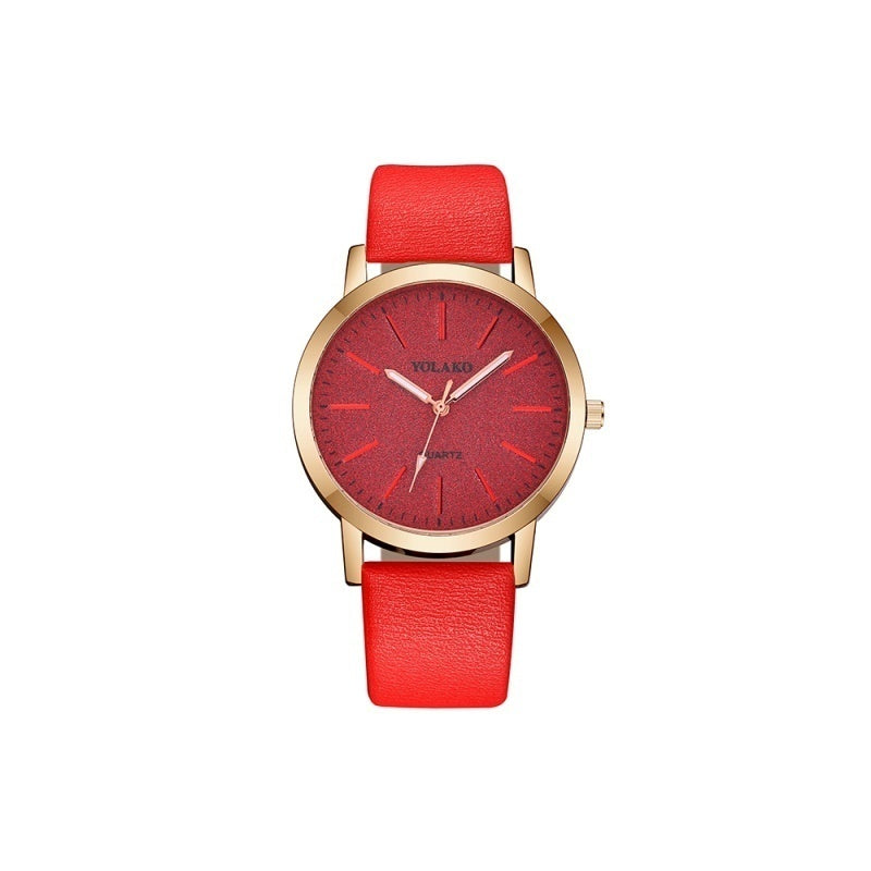 Geneva Watches Women Montre Femme Watches for Women Fashion Womens Watches Ladies Watch Simple Watches Faux Leather Watches Analog Quartz Wrist Watch Clock Quartz Watches for Women