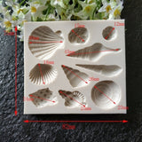 1pc New Conch Shell Silicone Cake Mould DIY Fondant Cake Pudding Jelly Mould