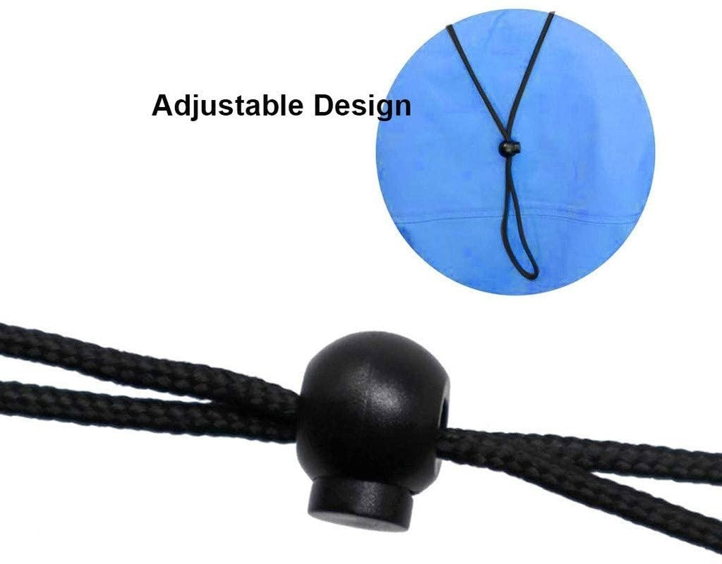 Sewing Elastic Cord, with Adjustable Buckle, Elastic Retractable Ear Hanging Lanyard, Earmuffs, DIY Mask Making Supplies, with Lanyard, Convenient and Convenient, Comfortable Neck Brace with Hook and Earmuffs