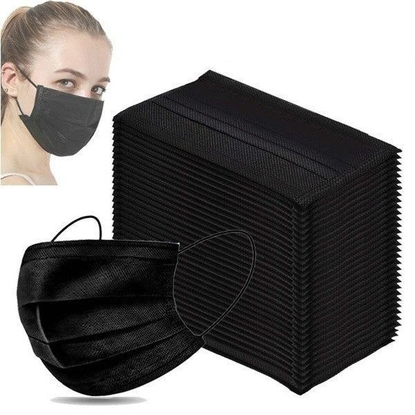 500/400/300Pcs Disposable Protective Mask 3 Layers Dustproof Facial Protective Cover Masks Maldehyde Prevent Anti-pollution Face Masks