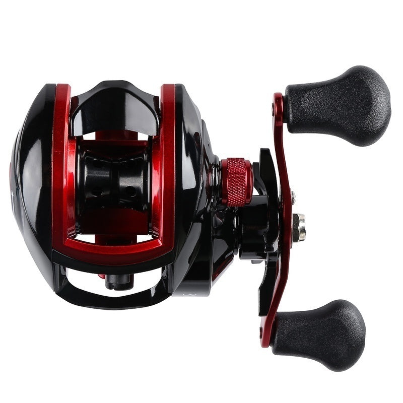 2021 Upgrade 18 1bb Fishing Reel 8.1:1 Baitcasting Reels 18LB Carbon Baitcasters Left and Right Hand Fishing Reels