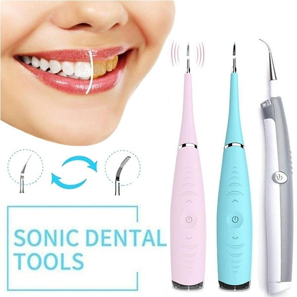Household Electric Teeth Cleaner Remover Fighting Tartar Tooth Stains Teeth Polishing Dentis Cleaning Tool