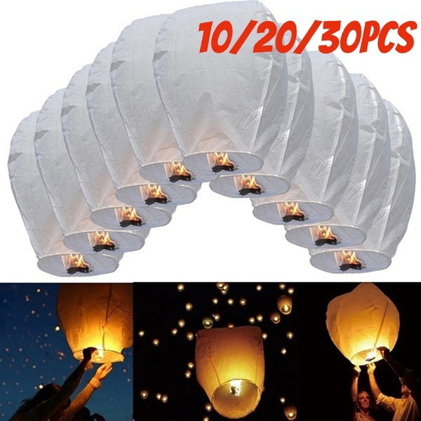 Air Kongming Lantern Flying Wishing Lamp Chinese Paper Lantern Sky Lanterns