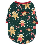 New Christmas Pet Clothes Dog Clothes Warm Puppy Outfit Pet Jacket Coat Winter Dog Clothes Soft Sweater Clothing For Small Dogs Chihuahua