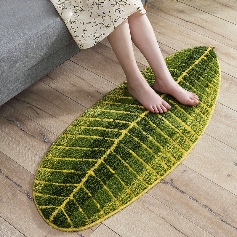 LEAFY Nature Plush Mat