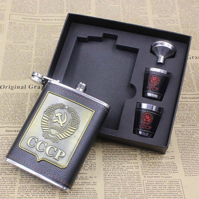 CCCP Alcohol Flask