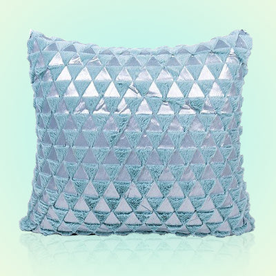 CRYSTAL Plush Pillow Cover