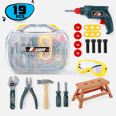 CraftKID Toolbox Toy Set