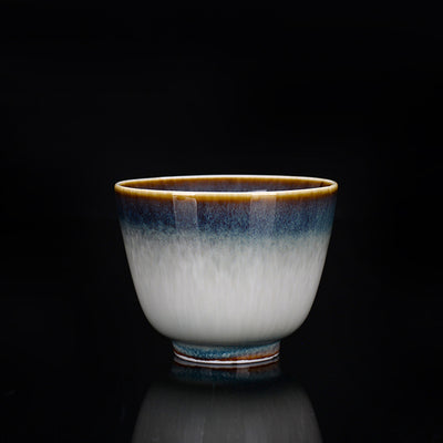 JADELY Hand-Brushed Ceramic Teacup