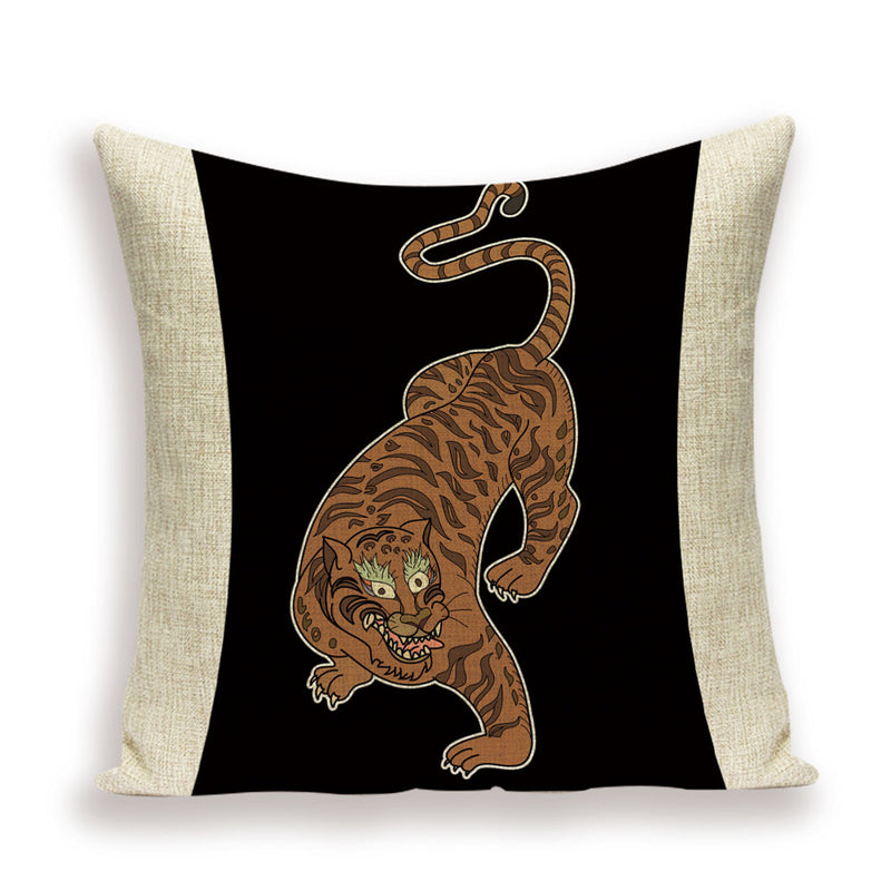 SAFARI Throw Pillow Cases