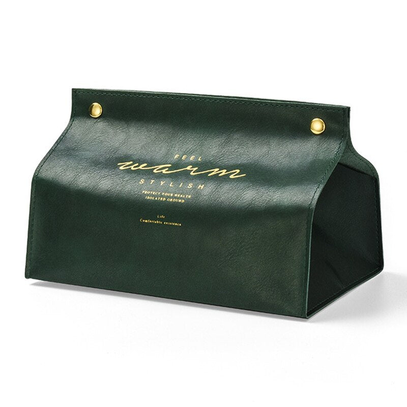 'BRUXELLES' Leather PU Tissue Dispenser