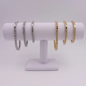 Miami Tennis Set® (Chain + Bracelet)