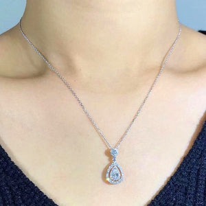 Water Drop Pendant + Necklace