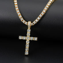 Load image into Gallery viewer, Cross Pendant (+ Free Chain)