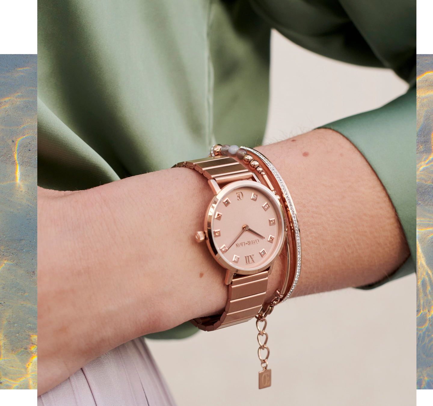 Styling Trend Watch Bracelets Rose Gold