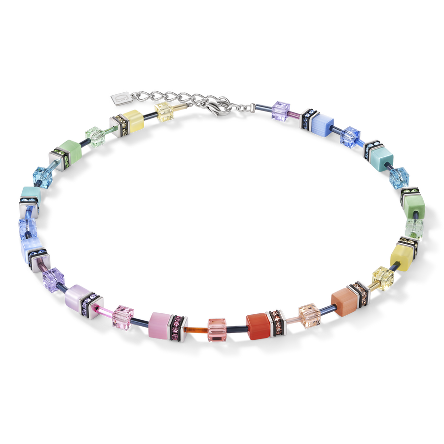 GeoCUBE® Necklace multicolour soft