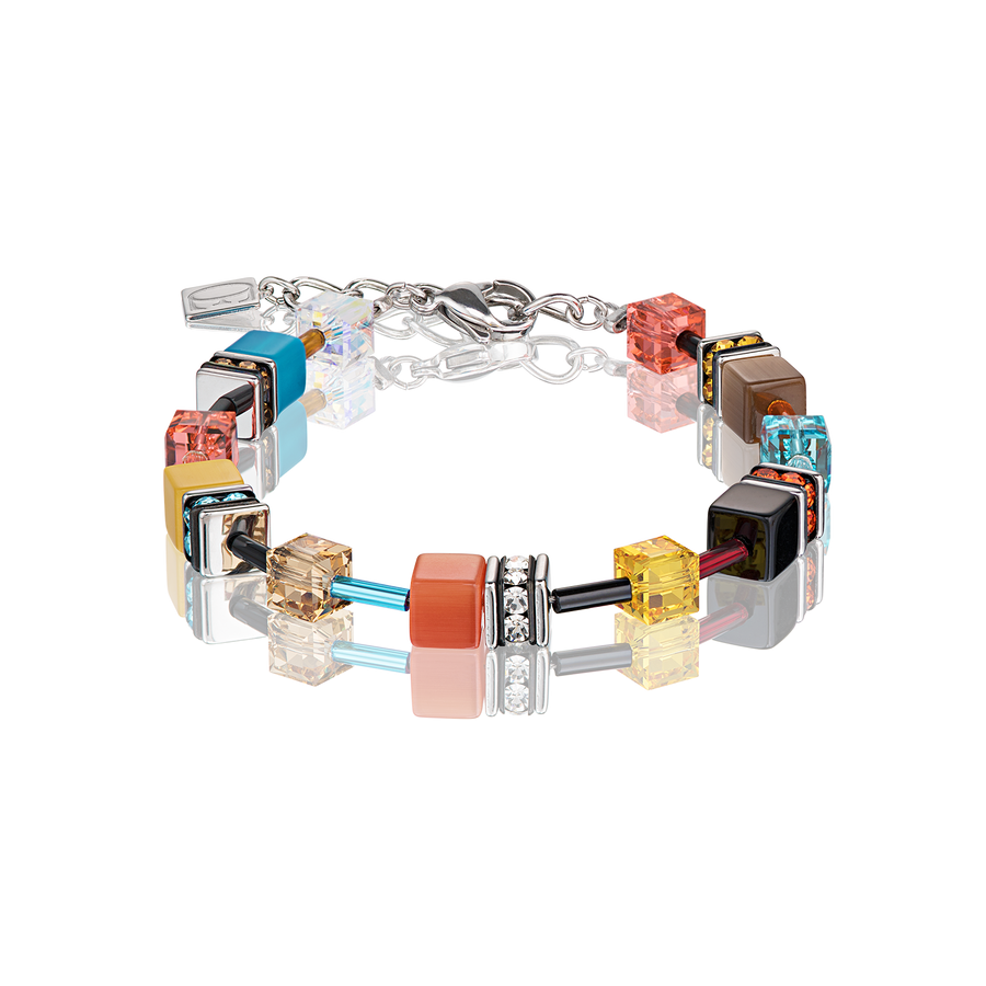 GeoCUBE® Bracelet multicolour daylight fresh