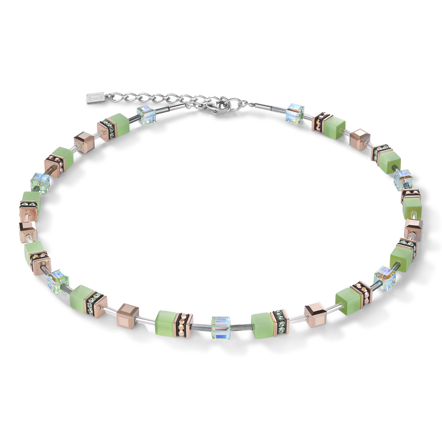 GeoCUBE® Necklace light green