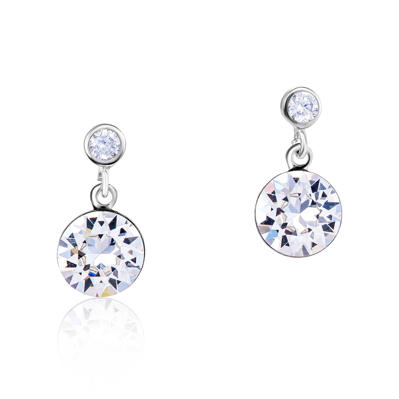 Earrings Swarovski® Crystals & stainless steel multicolour nature