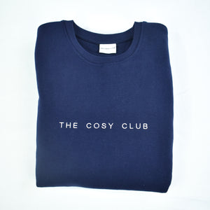 The London - Men's Sweatshirt - Navy/White