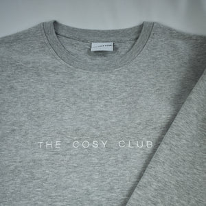 The London - Men's Sweatshirt - Grey/White