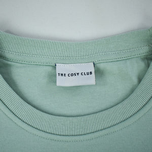The London - Men's Sweatshirt - Mint/White