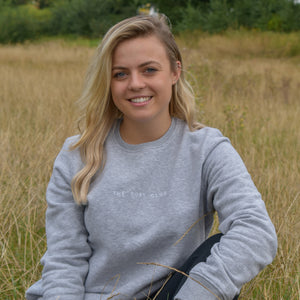 The London - Women's Sweatshirt - Grey/White