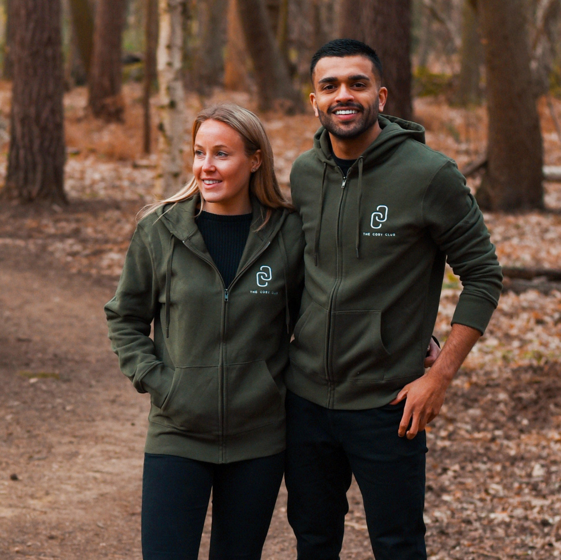 The New York - Unisex Zip - Khaki