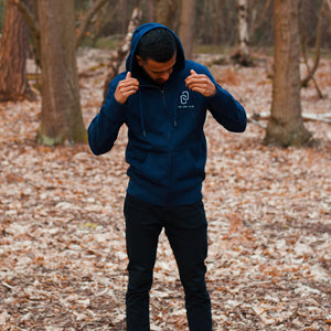 The New York - Unisex Zip - Navy