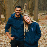 Load image into Gallery viewer, The New York - Unisex Zip - Navy