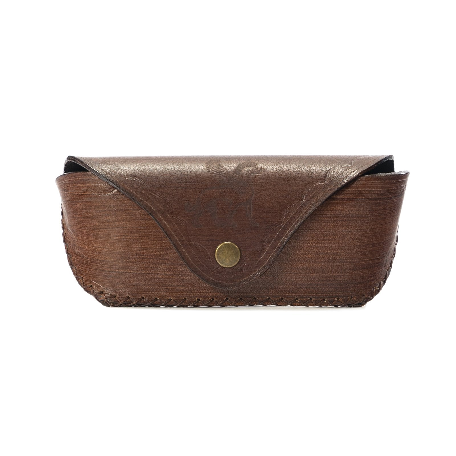 Derifix Cunda Handmade Leather Glasses Case