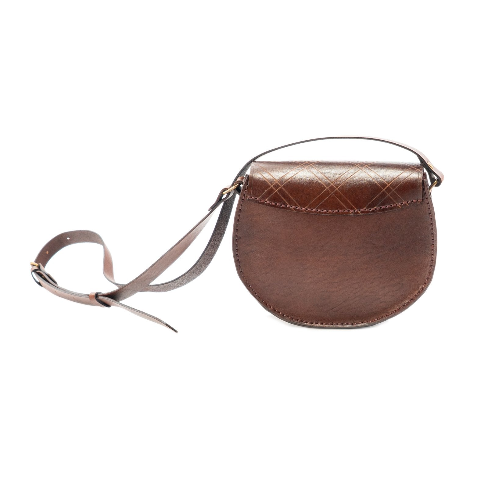 Derifix Joya Brown Handmade Women's Leather Bag