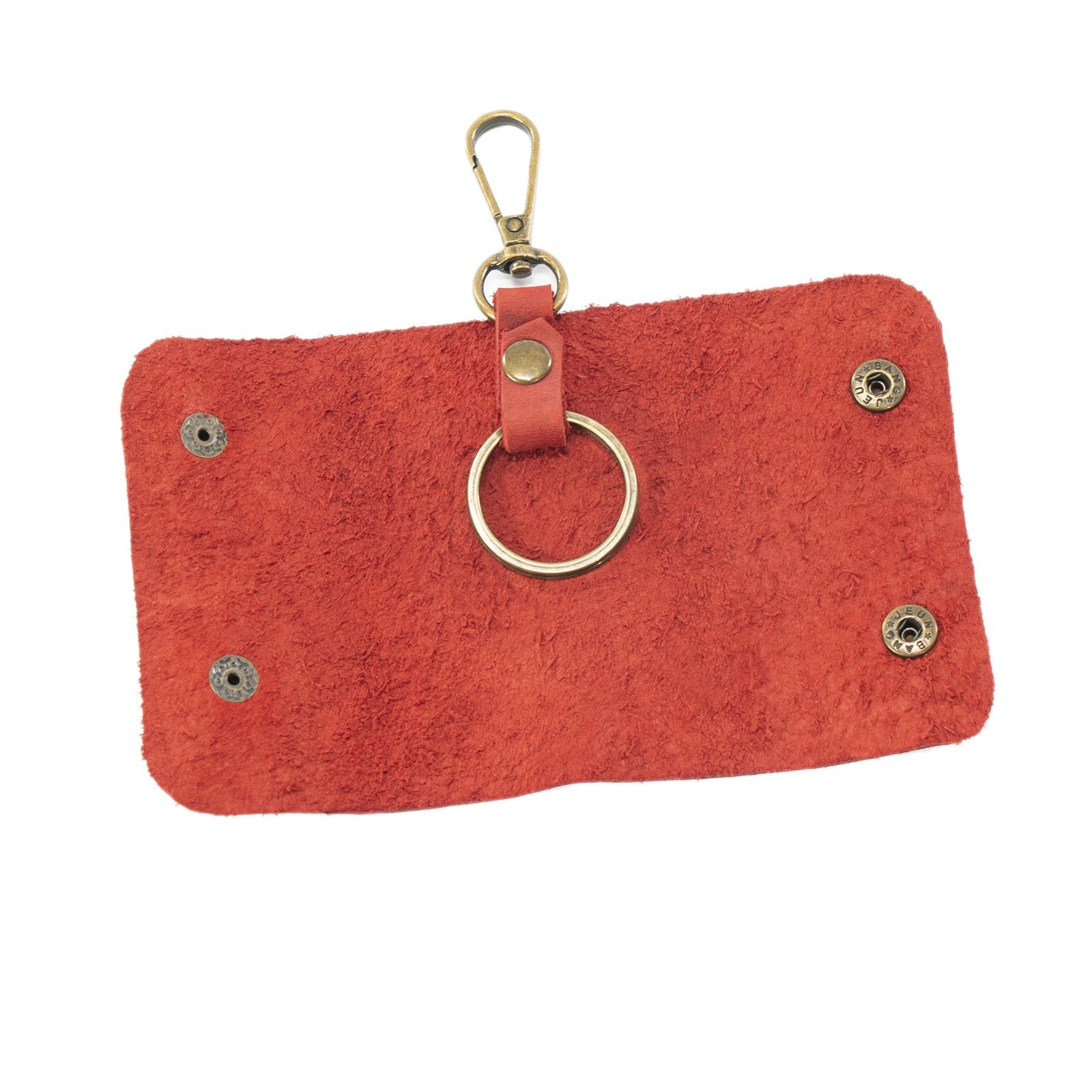 Derifix Anka Red Handmade Leather Keyholder