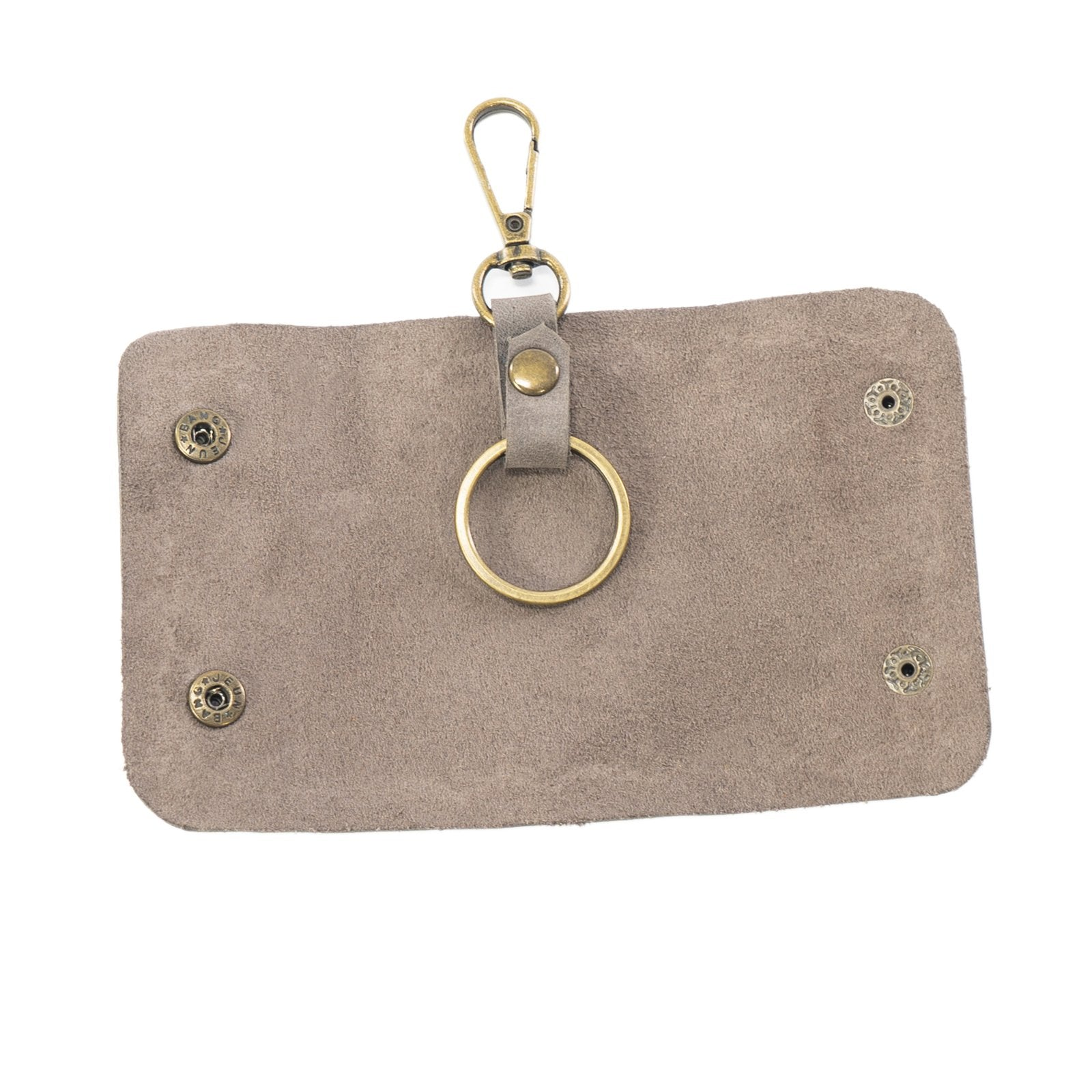 Derifix Anka Sooty Black Handmade Leather Keyholder