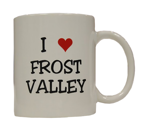 I Love Frost Valley Mug