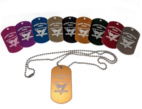 Frost Valley Dog Tags