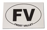 Frost Valley Stickers