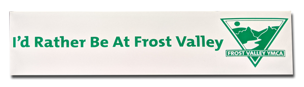 I'd Rather Be at Frost Valley Sticker