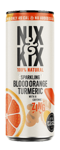 Blood Orange Turmeric 12 x 250ml Drinks Nix & Kix