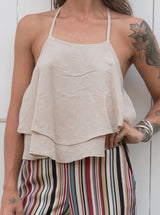 Top Le Streghe beige