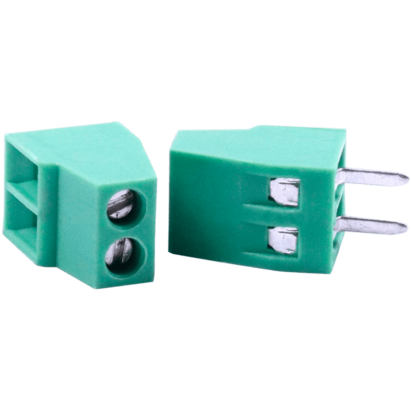 KOLTER Terminal Blocks Terminal Block 2 Pins 2.54mm Pitch Side Entry