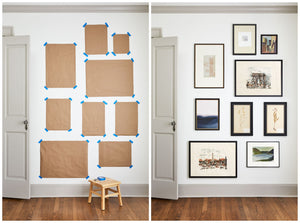 Guide to Curating a Gallery Wall