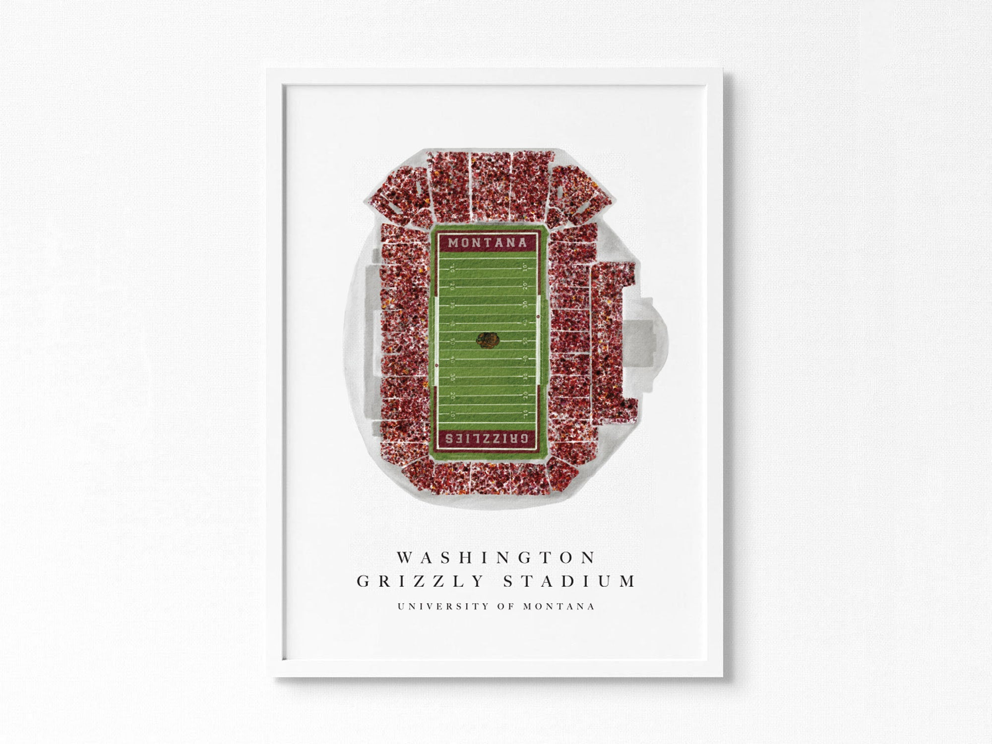 University of Montana Grizzlies | Washington-Grizzly Stadium, Missoula Montana, Football Seating Chart