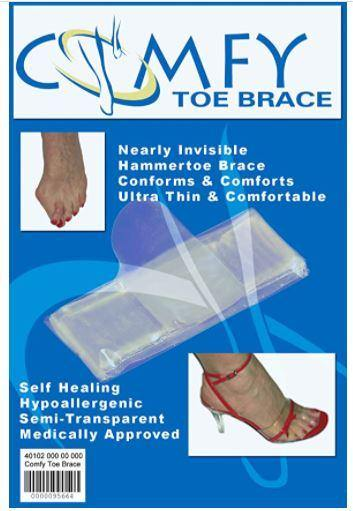 Comfy Toe Brace HD- Ferdinand's Invisible Toe Straightener - Hammer Toe Brace - ferdinandswigs.com - Ferdinand's Holdings - Accessories, Hammertoe
