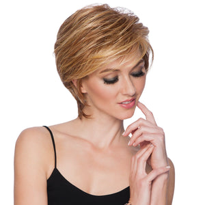CARMEN - SHORT WAVES - heat friendly standard cap wig - Ferdinand's Wigs