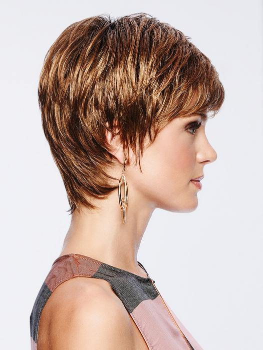 EMMA - PIXIE CUT WIG -  lace front hand tied mono crown ultra petite/petite wig